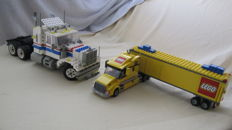 Model Team / City - 5580 + 3221 - Highway Rig + LEGO Truck