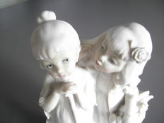 Multiple Lot: Two statues of G. Armani