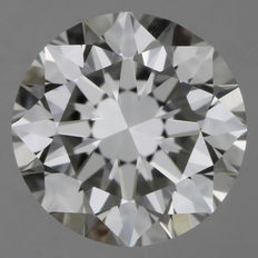 0.50 ct, brilliant cut G-VS2