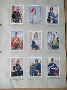 Lot of collectible pictures from different albums World War I