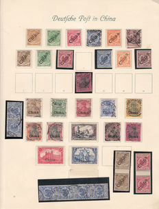 Postal offices from 1898/1911 – China, Kiautschou stamp lot.