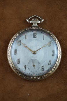 Record Longines Watch Co - Rare pocket watch - 1930's