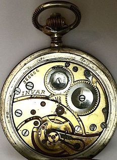 Invar Chronometre – pocket watch – men's – circa 1910