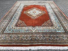 TABRIZ - approx. 413 x 297 cm - India - hand-knotted - 21st century