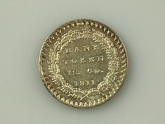 United Kingdom – 1 Shilling 6 Pence (18 Pence) 1811, George III – silver