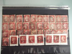 Great Britain 1850/1930 – Collection on stock cards