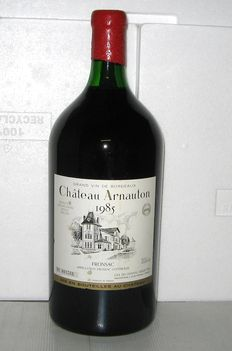 1985 Château Arnauton, Fronsac - Double-Magnum 3 Litres, in OHK