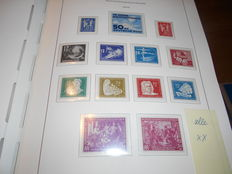 East Germany 1949-1969 – collection in mint condition – lighthouse preprint album