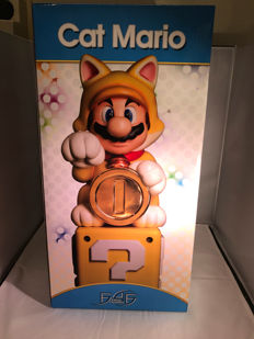 New and unopened First 4 Figures statue Cat Mario Nr 503