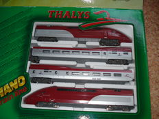 "Mehano H0 - T673 – 4-piece express train ""Thalys"""