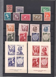 Bulgaria 1882/1981 – Collection on stock pages