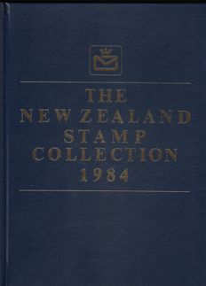 New Zealand  1984/1999 - 16 Year sets in bound booklets