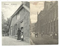 Lot consisting of 80 postcards of Dutch cities and villages