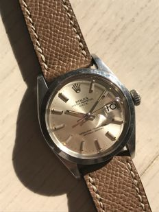 Rolex Date with double punched papers - unisex - 1970