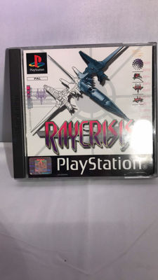 Ray Crisis for Playstation 1 - Rare