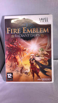 Wii - Fire Emblem Radiant Dawn -one of the best RPG games.