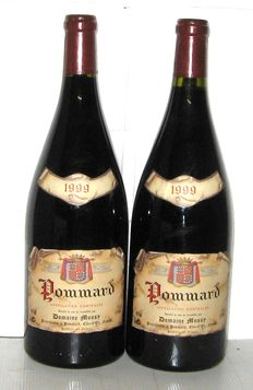 1999 Pommard, Domaine Mussy, Lot 2 Magnums 1.5L.