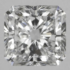 0.57 ct Square Radiant Modified Brilliant  E IF  GIA - # 1883 Original image-10X