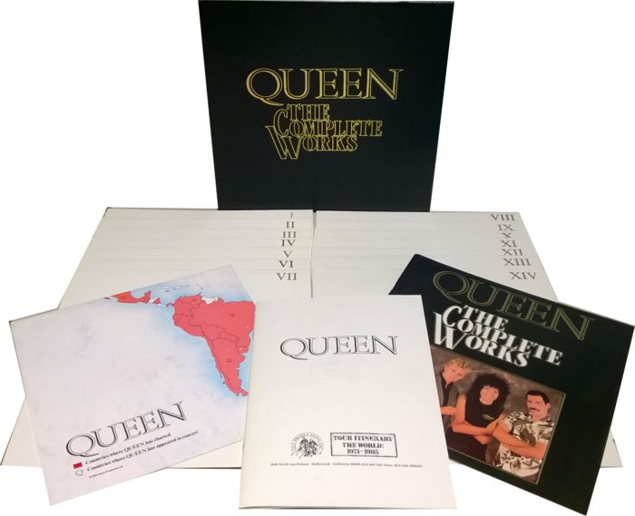 Queen - The Complete Works 1985