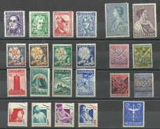 The Netherlands 1926/1935 - Selection of series and stamps