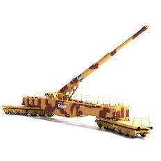 "Rivarossi H0 - HR6113 - Heavy raiway artillery cannon K5 ""Leopold"" in Brown/Beige colour scheme"