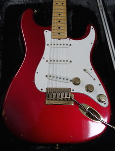 1982 Fender Stratocaster The Strat 1 Candy Apple Red!