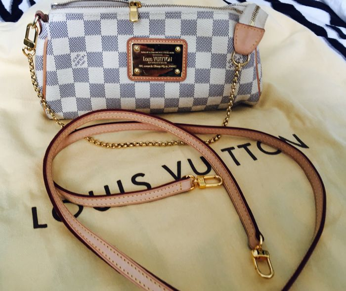 Louis Vuitton – Eva Damier Azur – small handbag