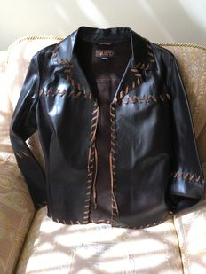 Miss Sixty Unique Casual Smart Western type Leather Jacket