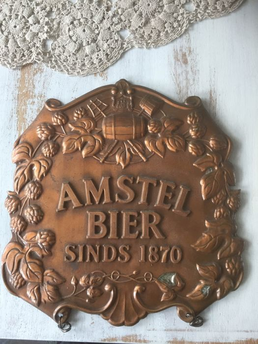 Amstel advertising sign