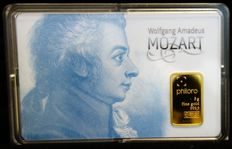 Mozart collector bar of the city of Salzburg; New