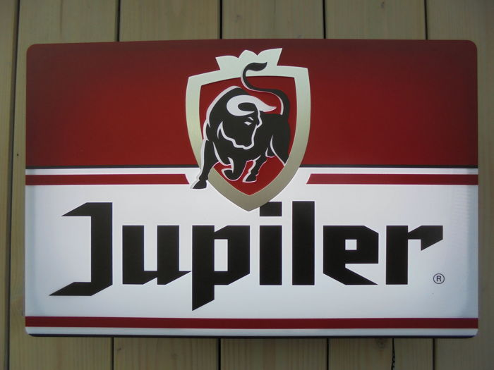 JUPILER - illuminated advertising sign - 21st century