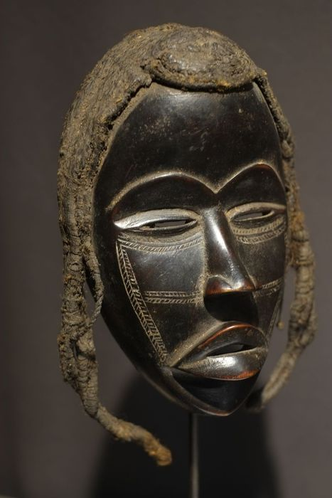Finelly carved Dan Mask -Liberia