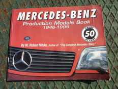 50 years Mercedes Benz, Models Production: 1946-1995 - 28x21 cm