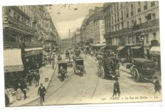 Beautiful set of 104 postcards on Paris and a few cities in France (mostly around 1910)