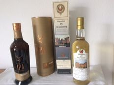 2 bottes - Douglas of Drumlanrig 10 years old & Glenfiddich IPA