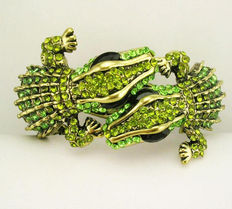 Kenneth J Lane double head alligator bracelet