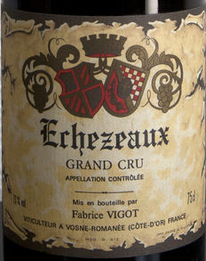 1990 Echezeaux Grand Cru - Fabrice Vigot - 1 bottle