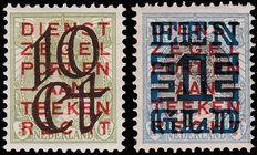 The Netherlands 1923 – Clearance issue – NVPH 132/133