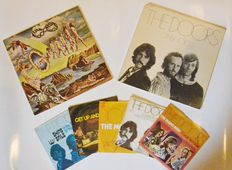 "The Doors > Lot Of 5 7"" Singles & 2 First Edit Albums"