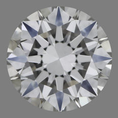 0.50 ct Briljant geslepen F-IF