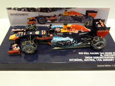 Minichamps - Scale 1/43 - Red Bull Racing Tag Heuer RB7 - Max Verstappen - Snow Run 2016