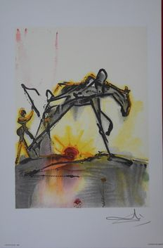 Salvador Dalí  (after) - Le cheval de labeur