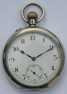 Early IWC Silver Pocket Watch Circa 1904