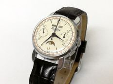 Breitling Datora Chronograph Ref. 803 Complication. Vintage, with moon phases – For men – Circa  1960
