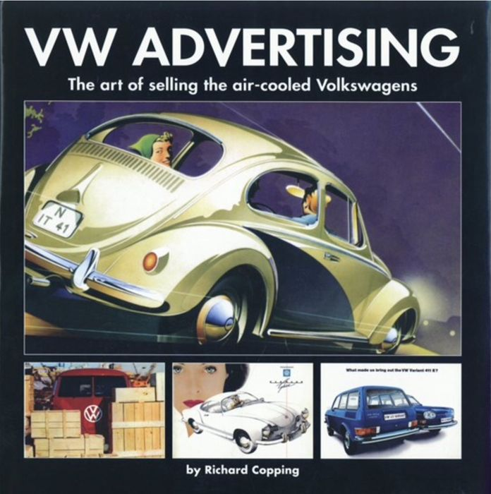 Libri - VW Volkswagen advertising - Richard Copping  - 1950-1970 (1 oggetti)