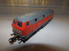 Märklin H0 - uit startset 29426 - Diesel locomotive BR216 of the DB Cargo