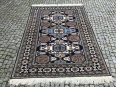 Old Persian / Iran Ardebil Rug-210x145cm -hand knotted with certyfikate