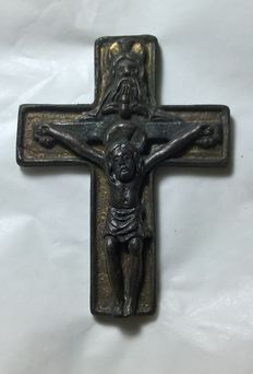 Antique bronze cross