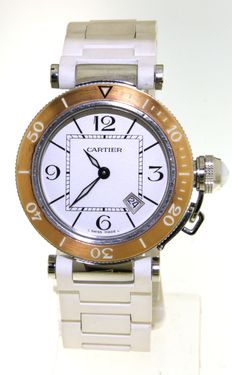 Cartier Pasha Seatimer - Ladies wristwatch - n° 3025 -  (our internal #5825)