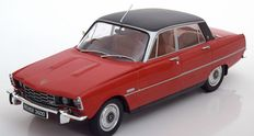 Modelcar Group - Scale 1/18 -  Rover 3500 V8 red/flatblack